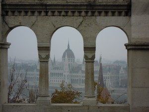 Budapest 2011 Parliament from Fishersbastion c G. Vergouw