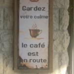 Koffie in menton